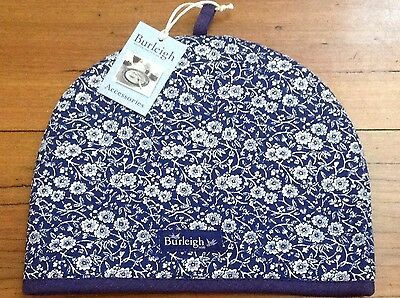 Blue Calico, Burleigh Tea Cosy / Teacosy  Cotton, Padded New.
