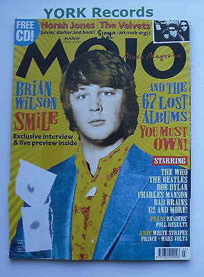 MOJO MAGAZINE - March 2004 - Brian Wilson / The Who / The Beatles / Bob Dylan
