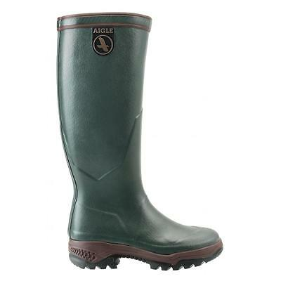 Aigle Parcours 2 Wellington Boot Wellies Natural Rubber Hunting Shooting Fishing