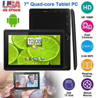 2019 Newest Android Tablets PC Quad Core Camera WiFi