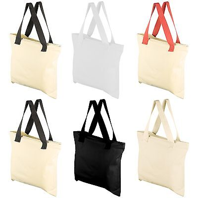 """10 Pack Mato & Hash 17""""X17"""" Blank Creativity Bag Arts and Craft Tote with Zipper"""
