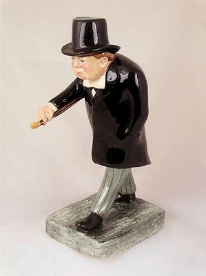 Bairstow Manor Collectables Winston Churchill Man in a Hurry Figure