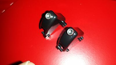 Black Trigger Pair w/ Trigger Stops for FPS/COD Games Xbox 360 Controller