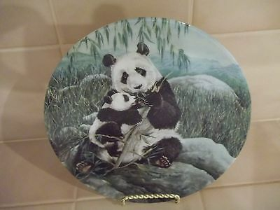 W. S. George Collectors Plate The Secret World of The Panda
