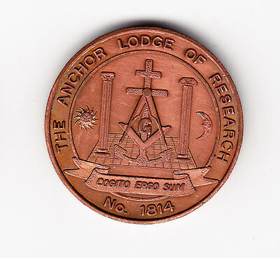 The Anchor Lodge of Research Masonic Penny - Canada