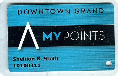 Downtown Grand (Las Vegas) Players Card (New)