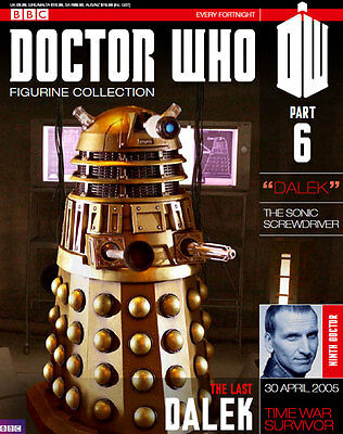 Doctor Who Figurine Collection Issue 6 The Last Dalek BRAND NEW SEALED