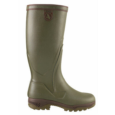 Aigle Parcours 2 Enduro Wellington Wellies Boot Natural Rubber Hunting Fishing