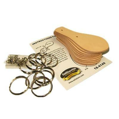 Leather Key Fob Kits 10 Pack 4149-11