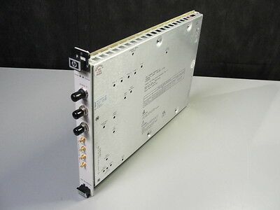 HP Agilent E1430A VXI Digitizer Module - 75000 C Series Plug-in, 4MHz to 0.24Hz