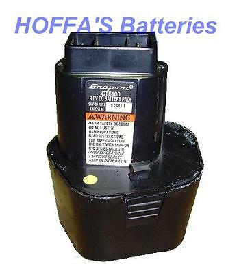 Snap On 9.6v CTB100 Battery BUILT BY THE BEST BATTERY PACK REBUILDERS ON E-BAY