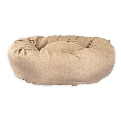 STANDARD - DONUT DOG BEDS. Gold Bed in size Extra Large, L, Medium, Small. Nice!