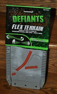 Defiants Flex Terrain Play Car Track 2 Sided Gray with FlagStones Earthquake NEW