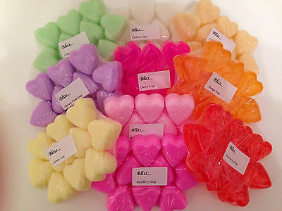Assorted Wedding Favour Handmade Heart Soaps