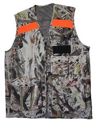 New Hunting Vest Mens Fishing Outdoor 2 or 4 Pockets Shooting Jacket Camping L