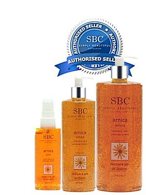 SBC Arnica Skincare Gel  - CHOOSE YOUR SIZE - Official Authorised SBC Stockist