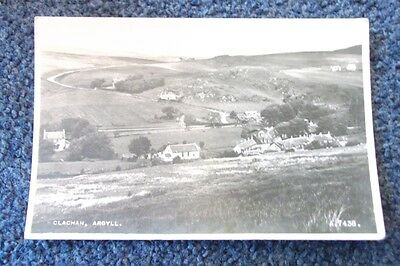 Old Postcard Of Clachlan, Argyll