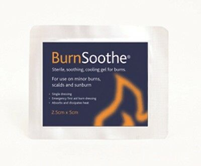 Reliance 392 Sterile Burn Soothing Dressing 2.5 X 5Cm X5