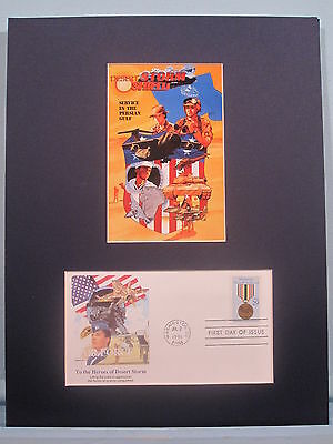 Honoring The U.S. Air Force Veterans of Desert Storm & First Day Cover