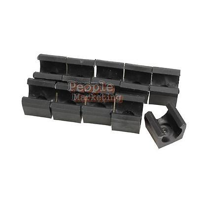 P4PM 10PCS Billiards Snooker Cue Locating clip Holder for Pool Cue Racks Set