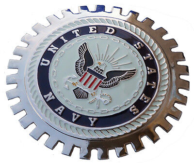 US Navy car grille badge emblem