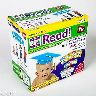 Your  My Baby Can Read - Volumes 1, 2, 3 & 4 Dvd's, Cards & Books BRAND NEW!