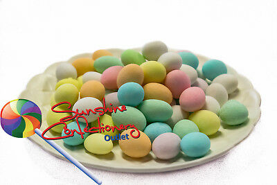 SUGARED ALMONDS LOLLIES (Mixed Colours) - 400G - BONBONNIERE Post Included