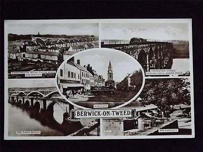 Old Postcard Of Berwick-On-Tweed - Unused