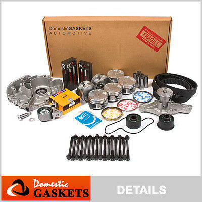 93-94 Mazda 626 MX6 Ford Probe 2.5L DOHC Master Overhaul Engine Rebuild Kit KL