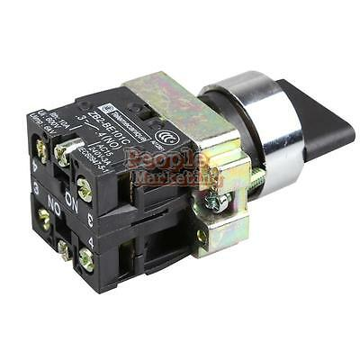 P4PM 10A 3 Position 2NO Maintained Toggle Select Selector Switch XB2-BD33C