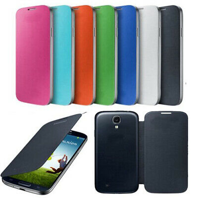 Front Flip Back Door Battery Cover Case For Samsung Galaxy S4 GT-i9500 i9505