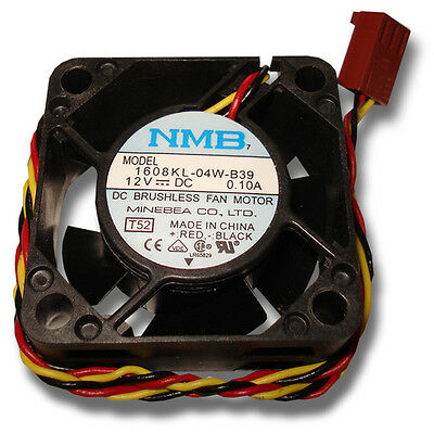 NMB 40mm x 20mm 3 pin 12VDC Ball Bearing Fan - Great for cooling external cases!