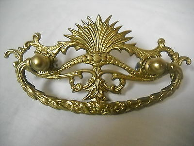 "Antique Victorian Drawer Pull 3"" Centers"