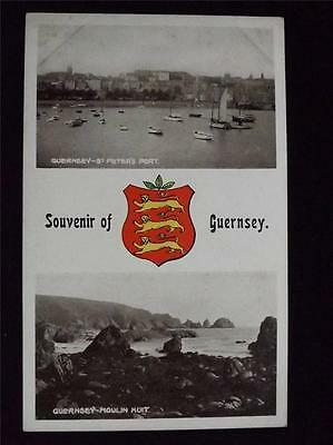 Old Postcard - Souvenir Of Guernsey - Unused