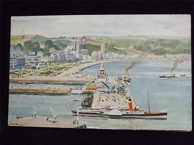 Old Postcard Of Rothesay, Unused