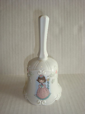 Precious Moments Christmas Holiday Porcelain Bell
