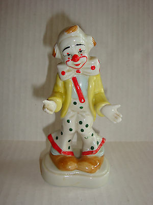 Vintage Homco Porcelain Clown Figurine 1445