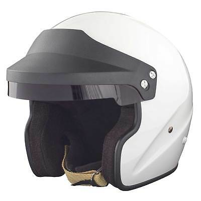 RSA Ace Open Face Race/Rally/Track/Competition/Motorsport Helmet - FIA & SNELL