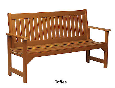 Phat Tommy Outdoor Recycled Poly Highwood Lehigh Bench - Eco-Friendly, Garden