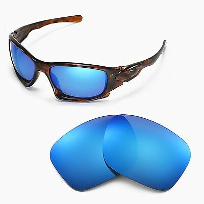 New Walleva Polarized Ice Blue Replacement Lenses For Oakley Ten Sunglasses
