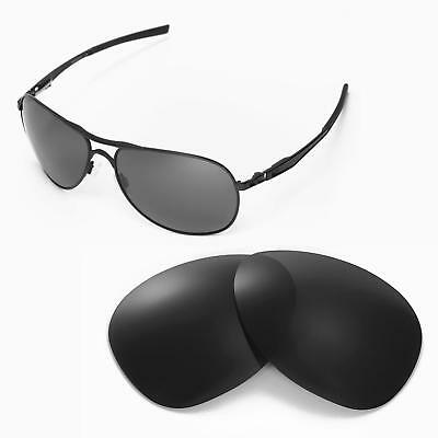 a235725f858 New Walleva Black Polarized Replacement Lenses For Oakley Plantiff  Sunglasses