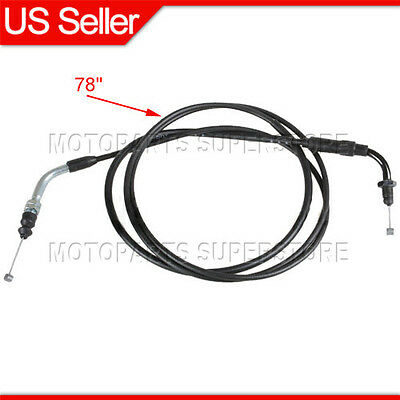 """78/"""" 95mm throttle cable for GY6 50 110 125 150 cc scooter moped gas TaoTao SUNL"""