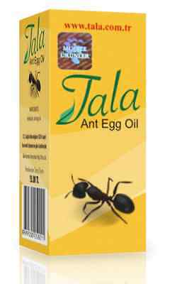 TALA ANT EGG OIL 20ml 0.7oz NATURAL ORGANIC HAIR REMOVAL,REDUCTION,ERADICATION