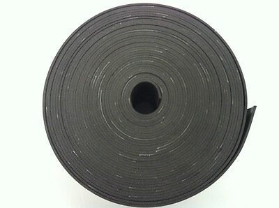Insertion Rubber Strips 6Mm Thick X 75Mm Wide X 1 Metre