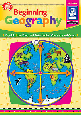 Beginning Geography Ages 6-8 years BNew Australian Curriculum Teacher Resources