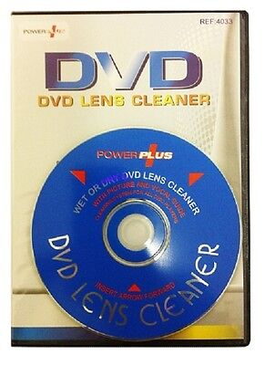 Wet/Dry CD/DVD Player Optical Lens Cleaner Also For PS3 PS2 Wii XBOX 360