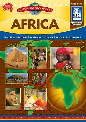Africa Exploring Geography Ages 8-12 BNew Australian Curriculum Teacher Resource