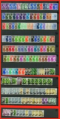 Full Set of 145 Northern Ireland Regionals. NI1 -- NI156. UNMOUNTED MINT.