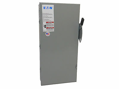 100 Amp 3 Phase Non-Fused Disconnect Switch - Eaton Cutler Hammer DG323UGB