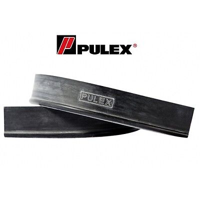 PULEX Window Cleaning Rubber 5 x 36 inch HARD Squeegee Rubber Blades
